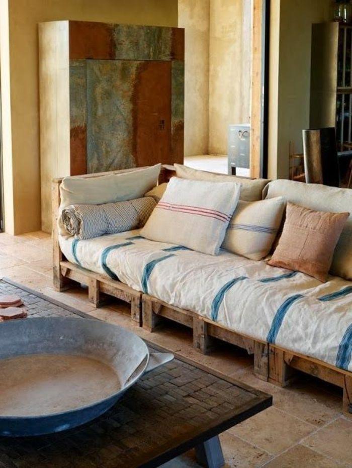 nice dco salon fauteuil en palette dans le salon moderne fauteuil pas cher