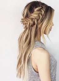 Image result for bridesmaid hair down