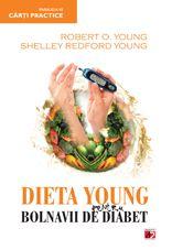 Dupa marele succes al cartii `Dieta Young, Miracolul pH pentru o sanatate perfecta`, doctorul Robert Young impreuna cu Shelley Redford Young prezinta acum o dieta revolutionara dedicata bolnavilor de diabet de tipul 1 si 2.  Diabetul este o boala grava, care poate fi controlata. Printr-o abordare simpla si naturala, cartea doctorului Young va va ajuta sa atenuati sau chiar sa inlaturati factorii care au declansat boala.