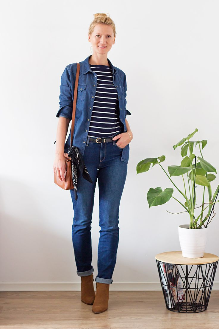 Slow  fashion challenge. 10 outfit out of 10 pieces of clothes. Fall Capsule Wardrobe.