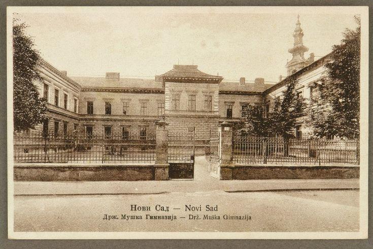 Нови Сад : Државна мушка гимназија - Дигитална БМС