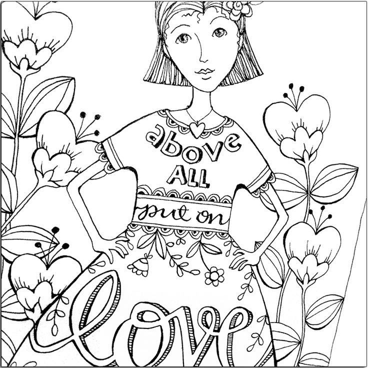 39 best images about godly coloring pages on pinterest for Bible journaling coloring pages