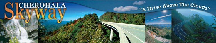The Cherohala Skyway, a National Scenic Byway SE Tennessee and SW N. Carolina