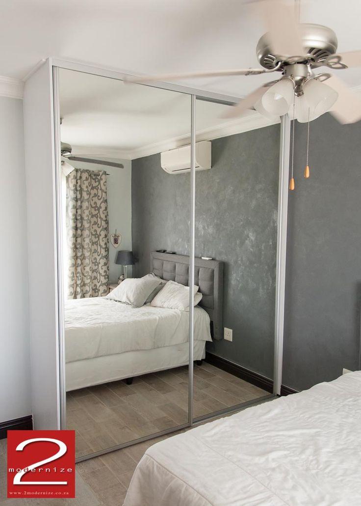NOVA - Mirrored wardrobe sliding doors