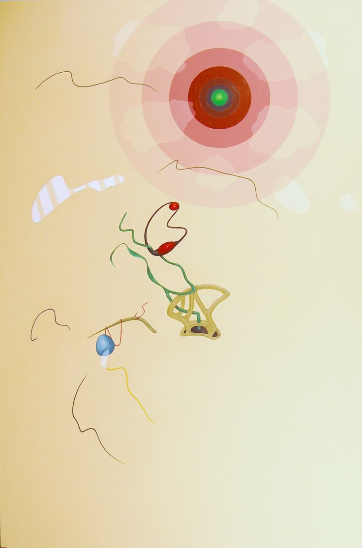 """""""Concentrico"""" acrilici su tela, cm 150x100, 2012"""
