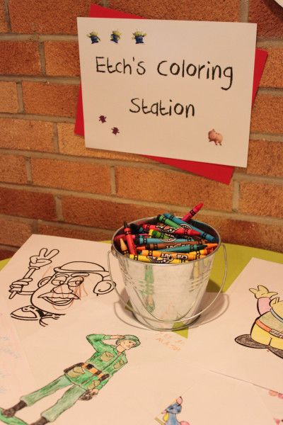etch coloring station