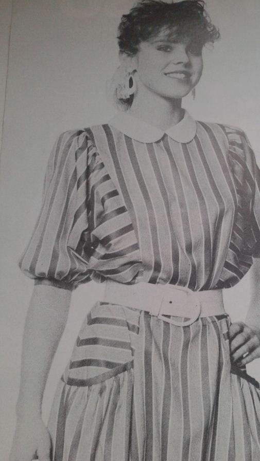 Dámské šaty - 80.léta