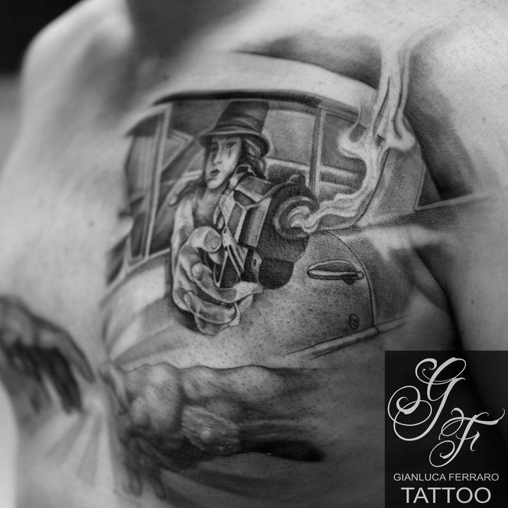 #tattoo #tatuaggi #tatu #tatuaggio #tato #tattooist #tatuatore #tatuatori #migliore #campania #napoli #biancoenero #blackewhite #blackegray #blackegrey #tattooblackandwhite #ink #piu #più #tattooblackandgray #tattooblackandgrey #realistic #realistici #realism #tattoorealistici #realistictattoo #tatuaggirealistici #tattooing #portrait #finelineblackandgrey #london #londontatts #italy #greenglide #bravo #chicano #chicanostyle #tattoowoman #gun #gangster #gang #LA #losangeles…