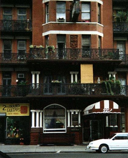 Chelsea Hotel New York City Pinterest Nyc The O