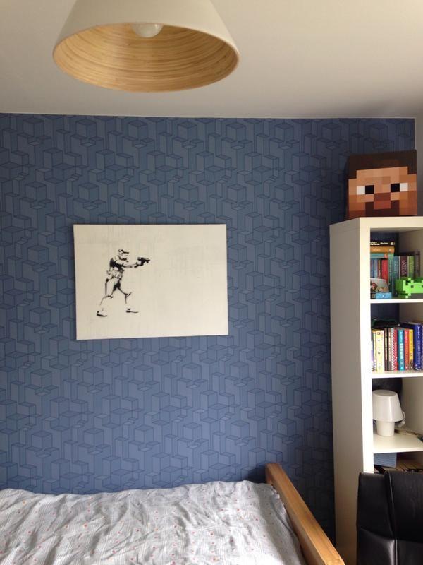 My son's room.