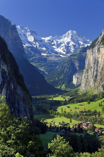 'Berner Oberland, Switzerland (Michele Falzone)' by Jon Arnold Images on artflakes.com as poster or art print $18.03