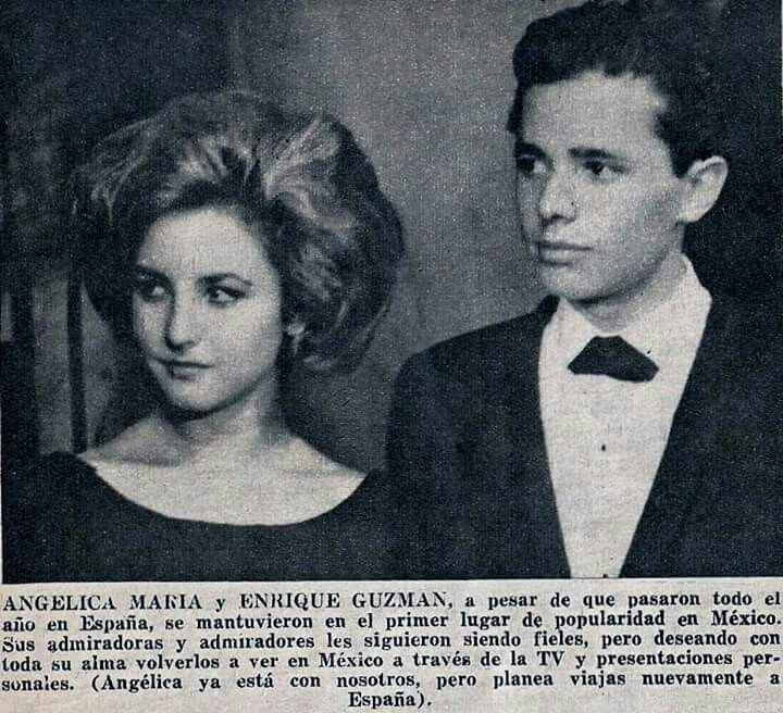 Angelica Maria y Enrique Guzmán