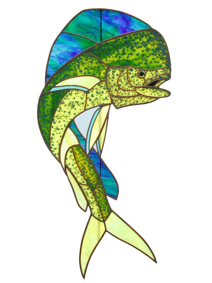 368 best images about stained glass fish on pinterest for Stained glass fish