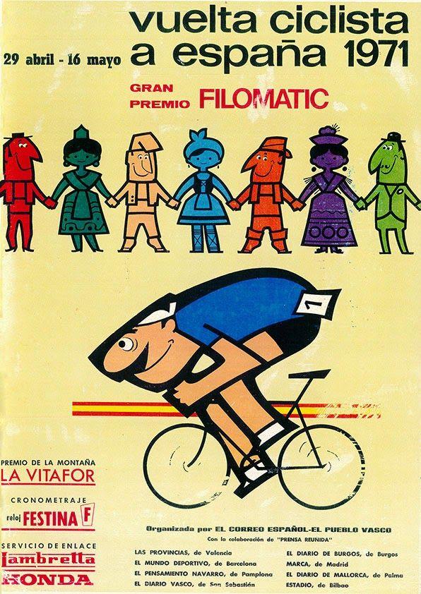 a vueltas con la vuelta: Libros de Ruta Vuelta Ciclista a España 1970 - 1979