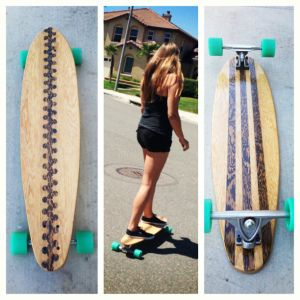 How to build your own longboard skateboard DIY