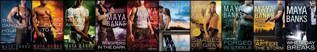 Renee Entress's Blog: [Series Review] KGI Series by Maya Banks