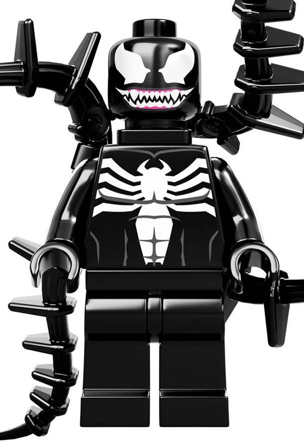 Venom Vs Spiderman Marvel X Lego Minifigures Men S Apparel