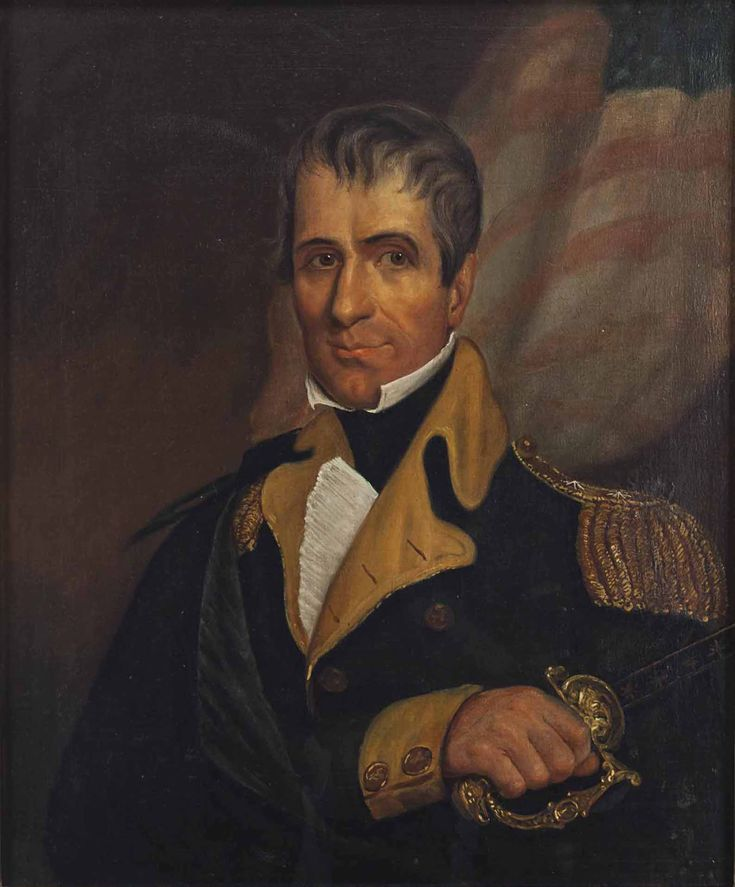 "Oil Painting, ""William Henry Harrison"" (19th Century) [$10,625 (2017)]"
