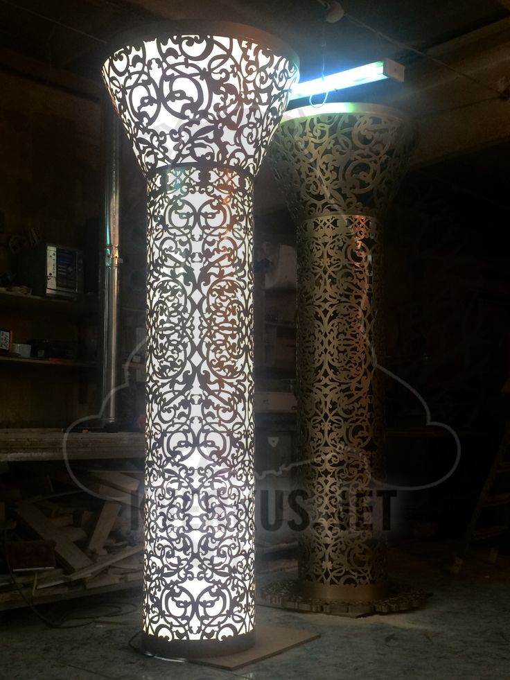 #light #columns #decor #metal #lasercut #decor #лазернаярезка #металл #столб #свет #декор