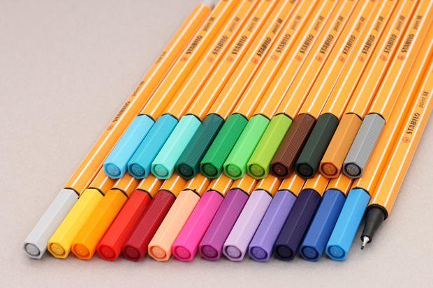 Stabilo felt-tip pens