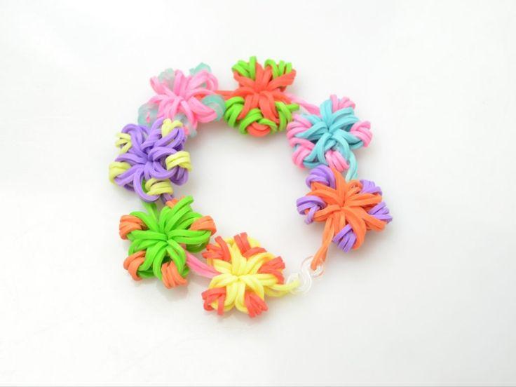 gummi-armbaender-basteln-blumen-binden-selber-machen-bunt-floral