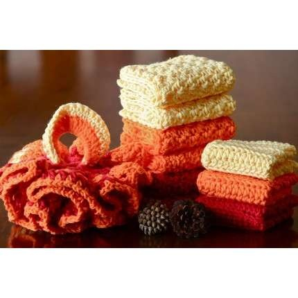 love crochet dish cloths and dish mops.  i've made several of these dish mops....  i think it's time to make one for myself! #crochet