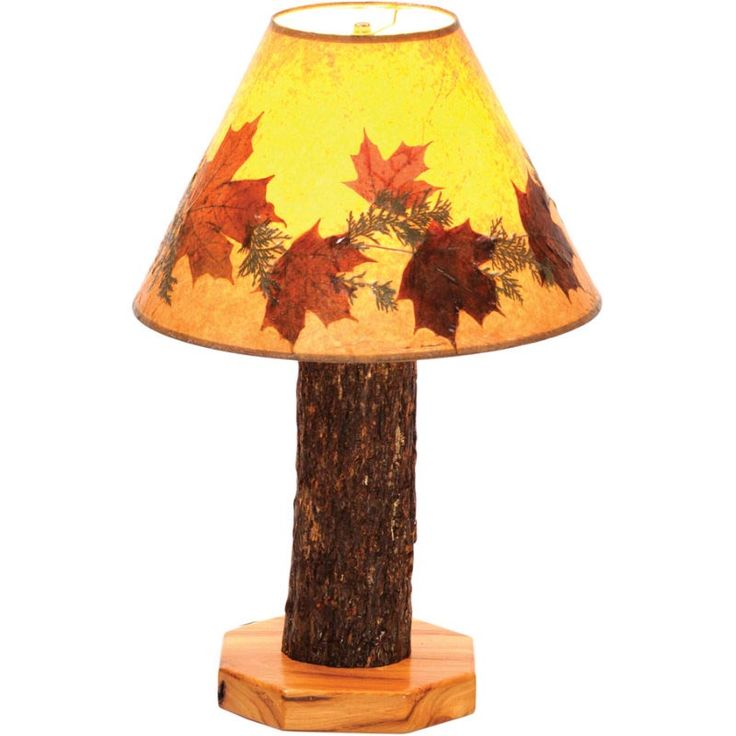 Rustic Floor Lamps with Table