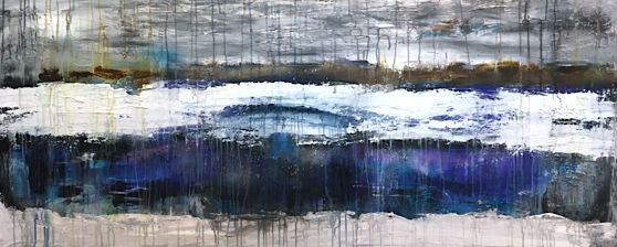 Wandering by Brenda Miller. Ottawa artist, Canadian artist, abstract artist.