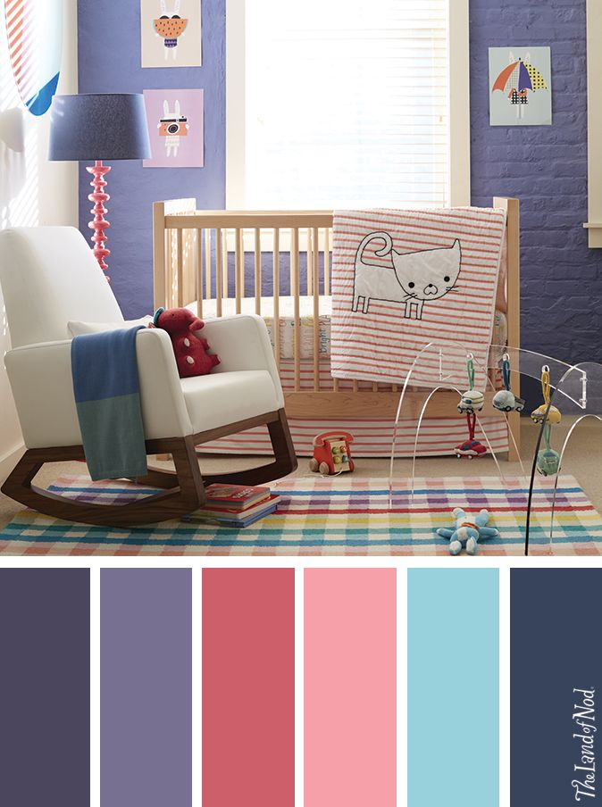 Searching for girls nursery ideas? The Land of Nod has tons of inspiration for every girls nursery room design. We all know that any baby nursery should be filled with personal and stylish details. That's why we've got a mega lineup of baby furniture and bedding to match a variety of styles and nursery themes. Don't forget to top it all off with playful nursery decor, too.