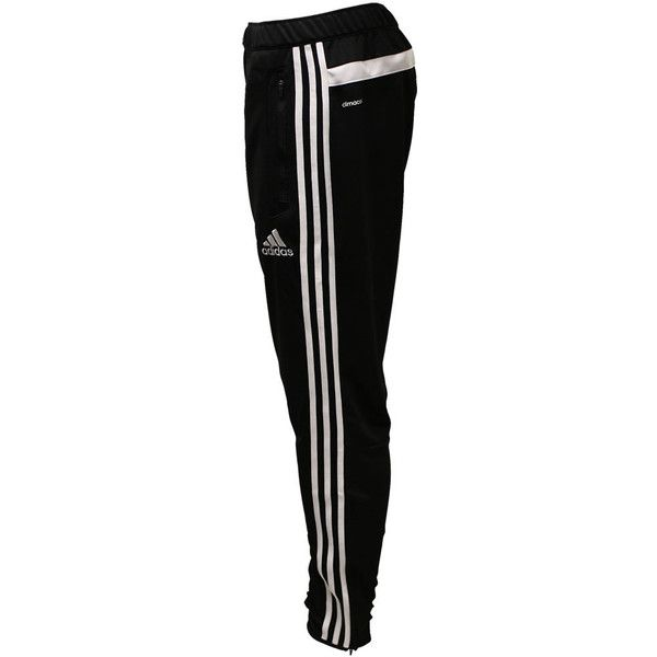 Adidas Tiro 13 Training Pant [Adult] (£38) ❤ liked on Polyvore featuring activewear, activewear pants, pants, bottoms, adidas, sweatpants, jeans, lightweight sweat pants, adidas sportswear and adidas activewear