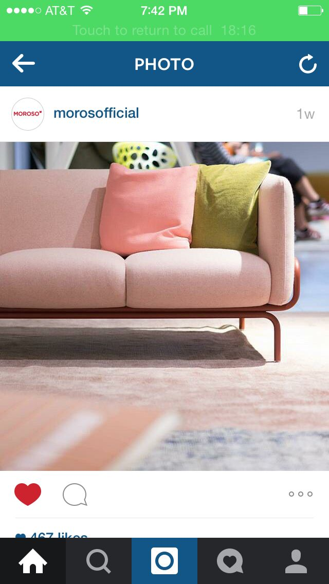 The Powder Pink Chandigarh Sofa By Nipa Doshi And Jonathan Levien In Moroso  London Showroom Via Morosofficial