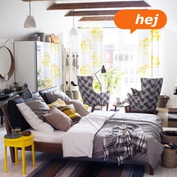 Schlafzimmer mit STOCKHOLM Bettgestell  for the home  Pinterest