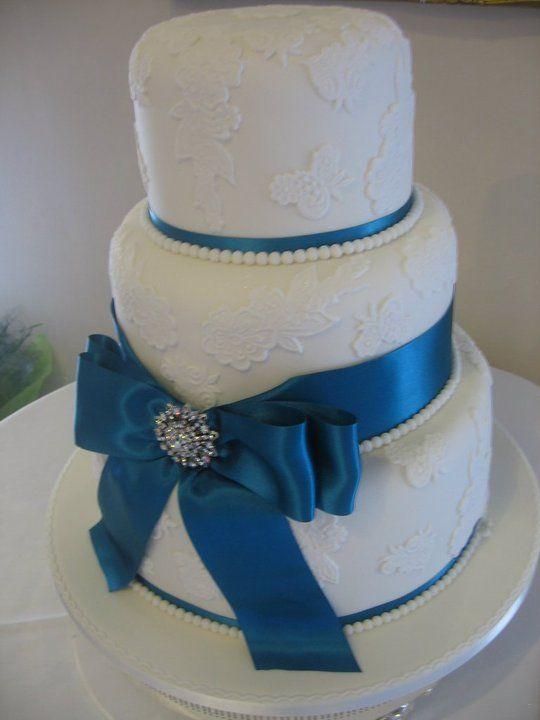 Tier Wedding Cake For