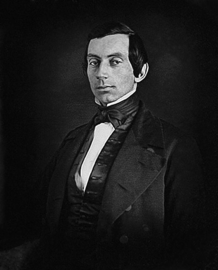 Abraham Lincoln in what is considered to be his earliest photograph. c. 1840.