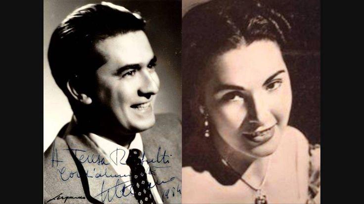 "G. DI STEFANO & R. CARTERI  ""Duet Nadir/Leila, Act II"" Les Pecheurs de P..."