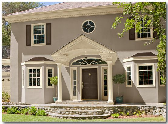 Stucco And Brick Exterior best 25+ stucco paint ideas on pinterest | stucco house colors
