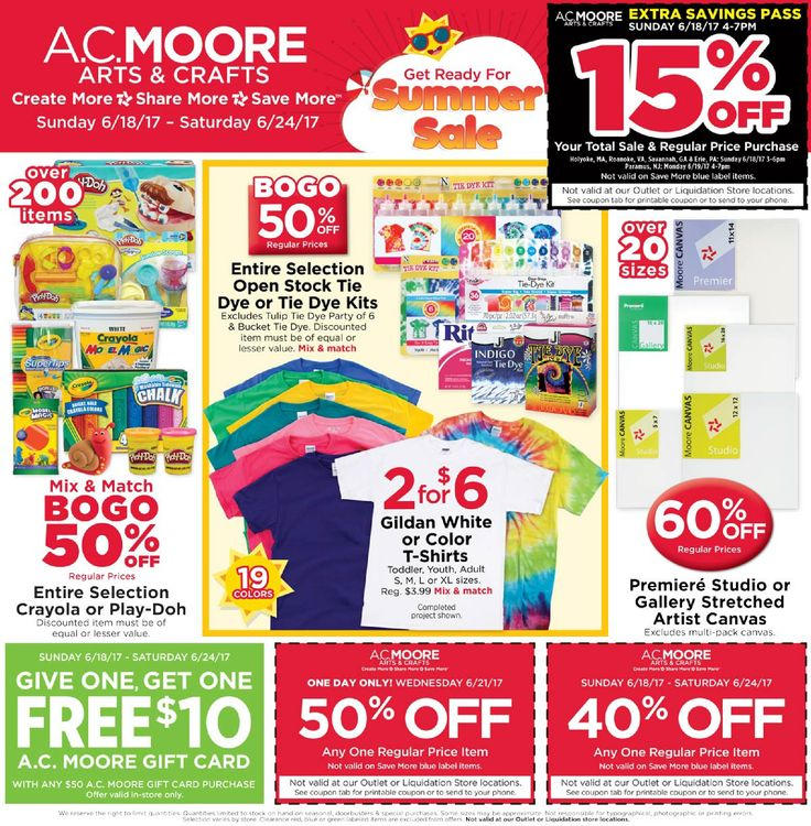 Ac moore weekly sales flyer : Four star mattress promotion