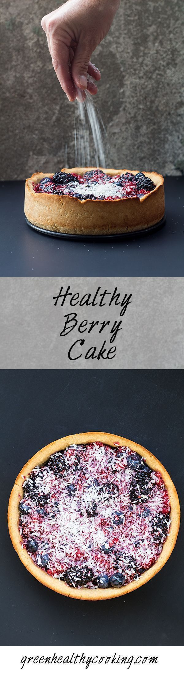 Looking for a delicious gluten-free, refined-sugar-free, chia and nutrition loaded Healthy Berry Cake? Look no further. You found it!
