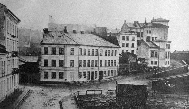 Piperviksbakken ca 1870