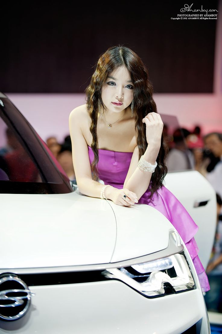 Korean Girls Hd  Models From Busan Motor Show 2012 The -5528