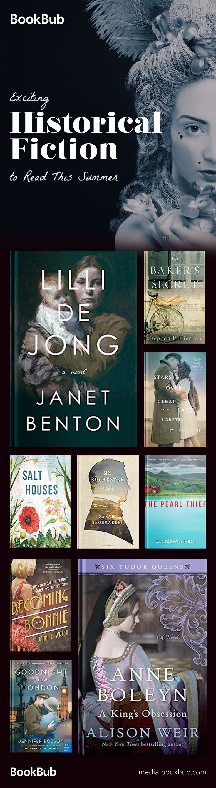 9 Historical Fiction Booksing Out In May