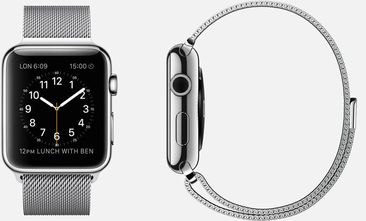 APPLE WATCH 38mm and 42mm Case 316L Stainless Steel