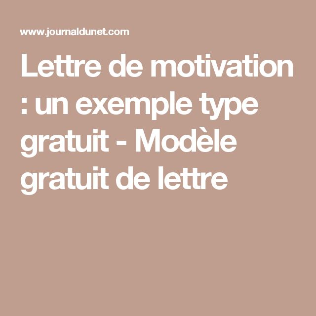 best 25  exemple lettre de motivation ideas on pinterest