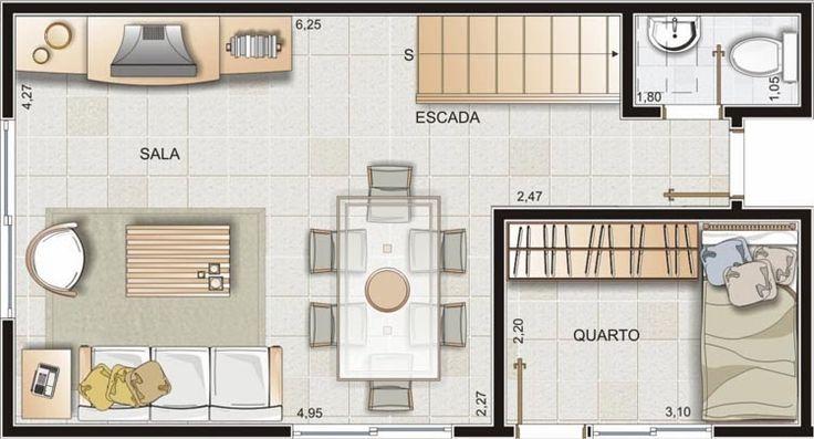 Plantas de Casas: Modelos, Projetos, Planta Baixa