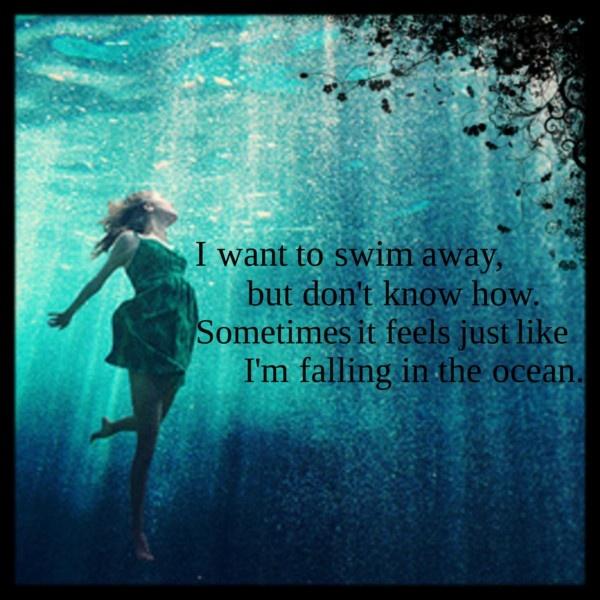 Into the Ocean-Blue October                              …