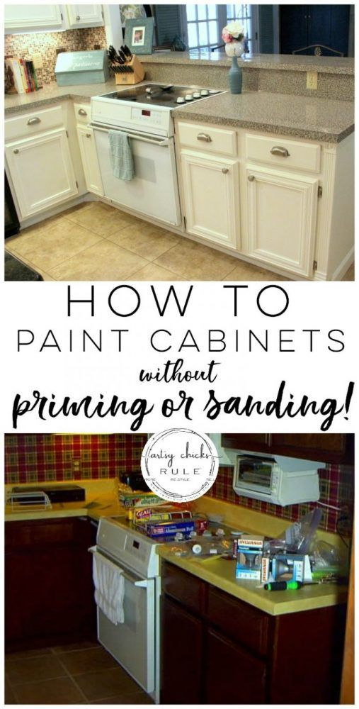 kitchen cabinet makeover annie sloan chalk paint blogger home rh pinterest com can you sand and restain kitchen cabinets