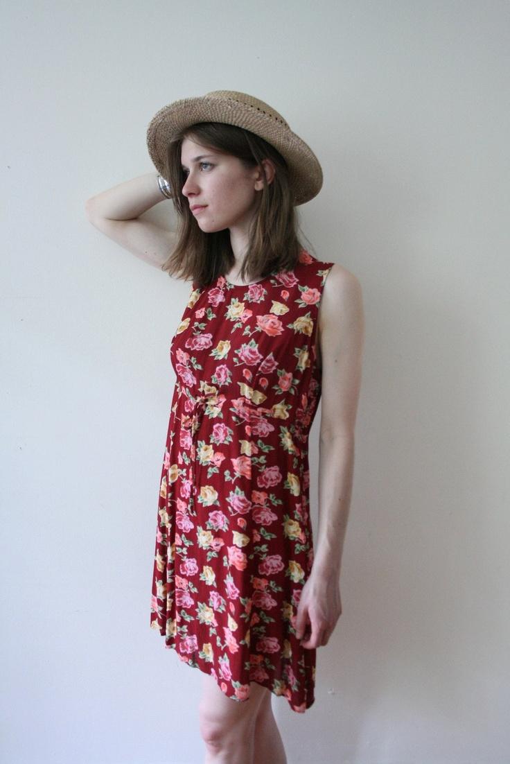 Summer dress beach outfit 90s