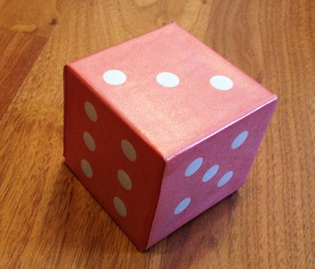 Make Your Own Dice Tutorial