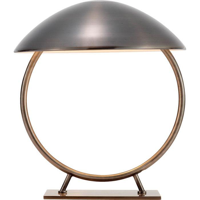 Weird but fun design! // Table lamp.