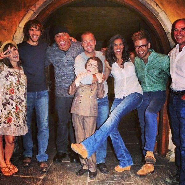 NCIS Los Angeles Cast on The Talk